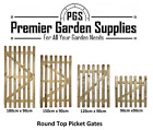 New Wicket Picket  Garden Wood Timber Gate 4 X Heights Avaiable Treated Timber