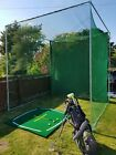 PROFESSIONAL 2 BAY GOLF⛳ FRAME- GALVANISED STEEL PRACTISE DRIVING GARDEN CAGE