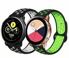 For Samsung Galaxy Watch Active 2 Replacement Silicone Sports Band Strap