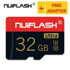 Micro SD Card NUIFLASH 32GB With Free Card Reader New Class10 Lot Real Capacity