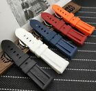 Silicone Rubber Watchband 22mm 24mm 26mm Strap for Panerai PAM Diver Watch SOFT  image