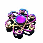 Fidget Spinner Metal Rainbow Spiner Anti-Anxiety Toy for Spinners Focus Relieves