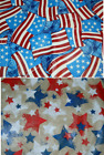 Patriotic Americana Tablecloth Flags Stars July 4th Picnic BBQ Round Oblong USA
