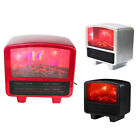 Mini Electric Flame Heater Air Warmer PTC Ceramic Heating Stove Radiator H P4L3