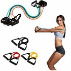 Resistance Bands Loop Exercise Rubber Gym Yoga Elastic Band Fitness Training US! image
