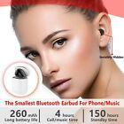 Ultra small Wireless Single Earbud Bluetooth Earpiece Hands-Free phone-3 colors