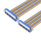 37 Pin D-SUB DB37 Female Male IDC Socket Flat Ribbon Cable Serial Cable