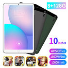 "NEW 10"" Ultra-thin 4G 8 128GB Android 10.0 WIFI Dual SIM Triple Camera Tablet PC"