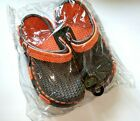 Tipi Toe Boys Clogs Mesh Top Two Tone Colors Size 12 4 Blue Black Gray Red