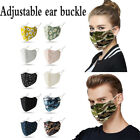 Reusable Fashion Floral Lace Mouth Face Masks Outdoor Protection Washable Unisex