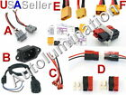 Ebike Electric Bicycle Rc Car Drone Battery Pack Plug Power Connector C13 C14