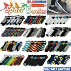 6 Pairs Womens Mens Trainer Liner Ankle Socks For Adults Sports Shoes Boots Lot