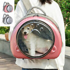 Pet Carrier Bag Breathable Space Capsule Backpack Cat Travel Tote Crate 2 Colors