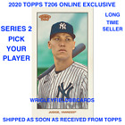 2020 Topps T206 Online Exclusive Series 2 (Cards 1-50) BASE PRESELL PICK PLAYERS