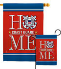 Coast Guard Home Garden Flag Armed Forces Small Decorative Gift House Banner
