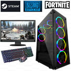 Fast Intel Core I5 Gaming Pc Computer 8gb Ram 1tb Hdd 120 Ssd Win 10 Gt 710 2gb