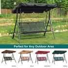 Outdoor Patio Canopy Swing Chair 3-person, Steel Frame Mesh Seats Swing, 4507