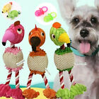 Dog Tough Strong Chew Knot Flamingo Toy Pet Puppy Healthy Teeth Cotton Rope New