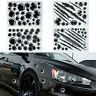Bullet Holes 3d Car Sticker Scratch Decal Waterproof Stickers Motorcycle Ca