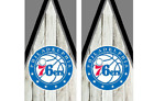 2 Philadelphia 76ers Cornhole Wraps -Pair of Board Decals - BASKETBALL - NBA on eBay