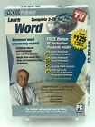 Video Professor Learn Complete 3-CD Set - HTML, WORD, QUICKEN, EXCEL [CHOOSE]