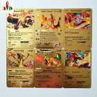 Pokemon GX MEGA Gold 27 Styles Metal Card Super Game Collection Anime Cards