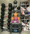 CAP IGNITE Assorted Hex Dumbbell Weights Rubber Neoprene Iron FREE FAST SHIPPING