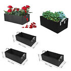 Grow Bag Box Planter Vegetable Herb Fruit Flower Growing Pot Garden Bed ​Rectang