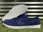 Nike Janoski G Golf Shoes Navy Blue White Spikeless SL Suede SZ ( AT4967-400 )