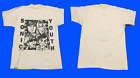 sonic youth dirty tour concert white Tshirt
