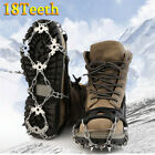 18 Teeth Ice Snow Shoes Climbing Gripper Crampons Anti Slip Cover Spike Cleats
