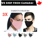 [3-Pack]  Quality Cloth Washable Reusable Face Mask Stretchy and Breathable