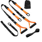 Workout Trainer Home Gym Fitness Suspension Resistance Strength Training Straps image