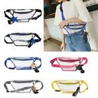 Fashion Pvc Transparent Fanny Pack Women Waist Bags Shoulder Messenger Bag Purse