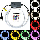LED Stripes Neon Light Rope Stripes Holiday Lights Indoor Outdoor 230 Volt V RGB