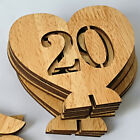 SALE of 1-20 Table Numbers Wedding Party Wodden Hollow Craft Decor Gift