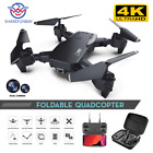 SHAREFUNBAY Drone 4k HD Wide Angle Camera 1080P WiFi fpv Drone Dual Camera Quadc