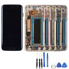 Super Amoled LCD Display touch Screen For Samsung Galaxy s7 edge SM-G935F Frame