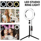 Dimmable Diva LED Studio Ring Light Diffuser With Stand Make Up Studio Video