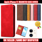 Magnetic Case Cover for iPhone 6 7 8/8+11 Pro XS Max Flip Leather Card Wallet