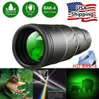 16x52 Binocular Monocular with Night Vision BAK4 Prism Waterproof