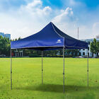 Heavy Duty Gazebo Pop-up Waterproof Marquee Canopy Garden Patio Party Tent 3x3M