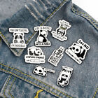 Funny Cartoon Panda Brooches Badge Knapsack Jacket Enamel Pin Lapel Pins Gifts