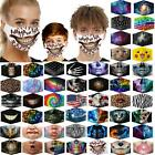 Unisex Washable Reusable Facemask Half Face Mouth Mark Protective Filter Mask 15