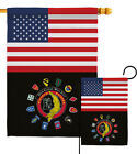 US Vietnam Veteran Garden Flag Armed Forces Service Decorative Yard House Banner