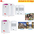 Genuine 1byone Wireless Driveway Alert Alarm System Motion Sensor Security 300M