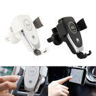 360 automatic qi wireless car charging charger mount clamping phone holder ed