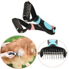 Fur Cleaner Cat Hair Grooming Dog Massage Bath Brush Trimmer Pet Dematting Comb