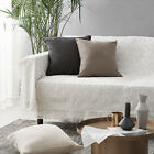 sofa chair woven knit throw cover blanket bed tassel fringed covers mat fringele