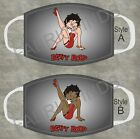 Betty Boop Adult and Kids Face Mask Poly Cotton Washable Reusable Choose Style $12.95 USD on eBay